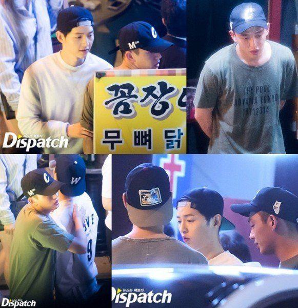 Ternyata ada Yoo Ah In juga bersama mereka.