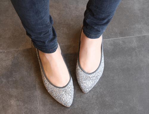 flat shoes :)