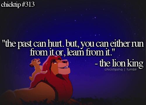 Seperti punch line dari film The Lion King berikut ini...