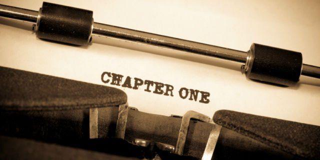 Senggaknya udah nulis 'chapter one'