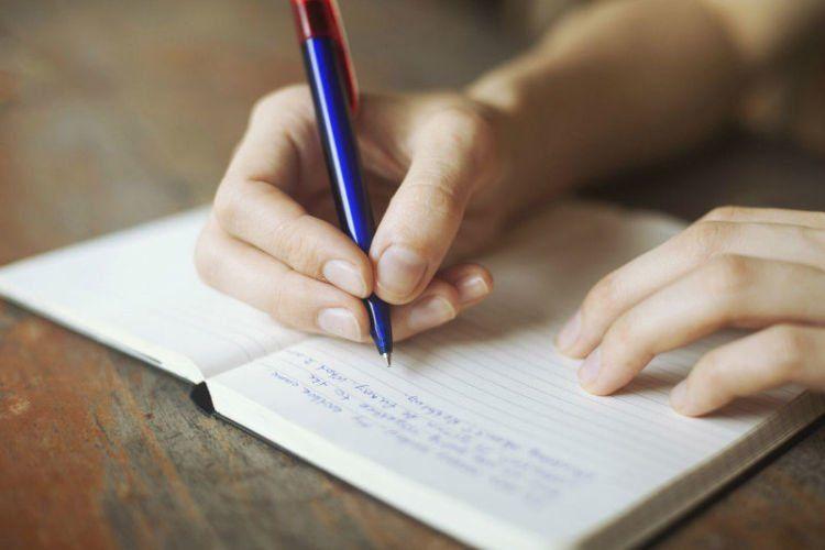 Coba curhat di tulisan