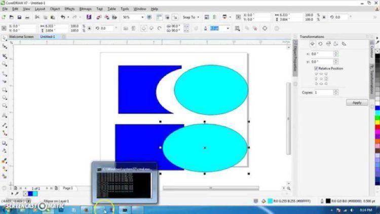 Panduan Menggunakan Corel Draw X3 : IlmuKomputer.Com Cara Belajar Corel Draw