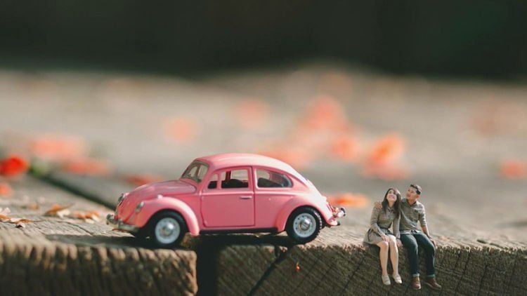 Buat Para Traveler 15 Foto Prewedding Miniatur Ini Bikin Momen