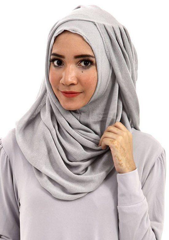 jilbab instan.