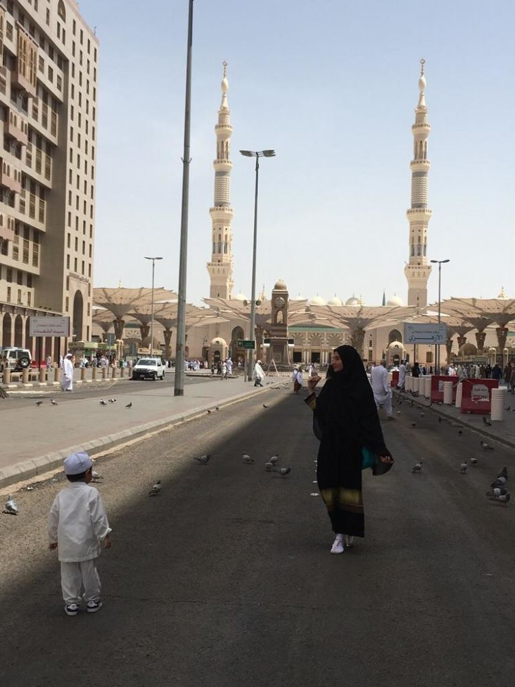 di masjid Nabawi juga ada