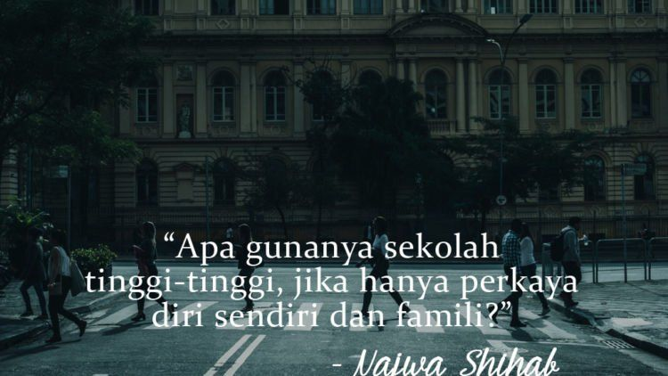 15 Kutipan Cerdas Dan Tajam Dari Najwa Shihab Untuk Anak
