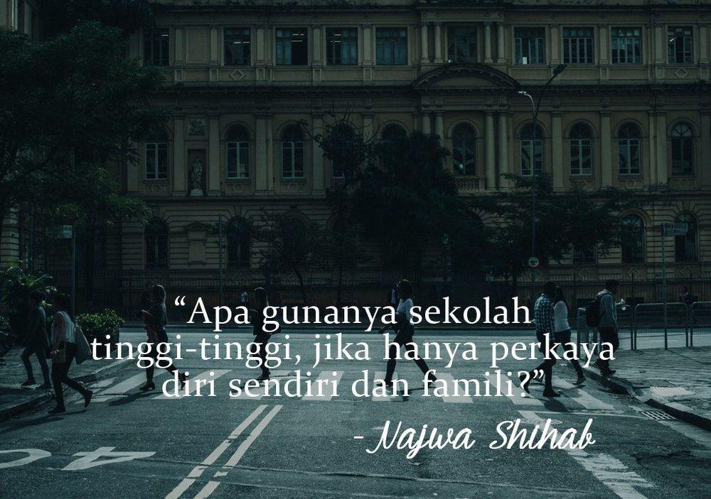 15 Kutipan Cerdas Dan Tajam Dari Najwa Shihab Untuk Anak Muda Indonesia Siap Siap Ditampar Ya