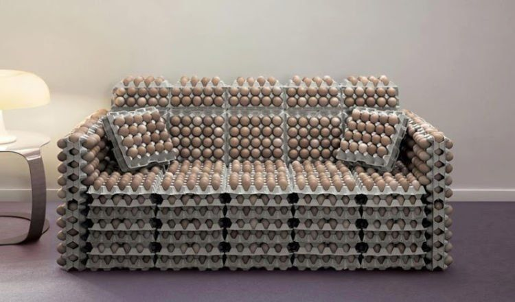 sofa telur!