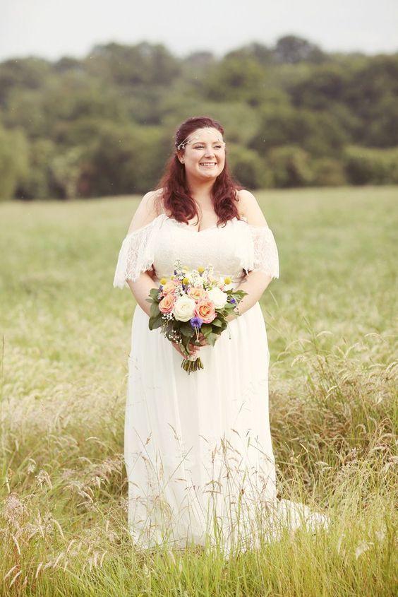 gaun pengantin yang simpel
