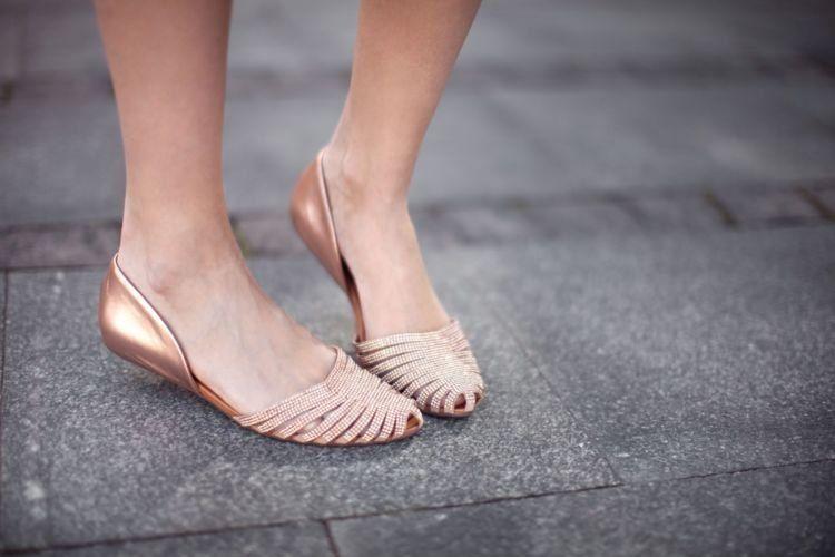 flat shoes!