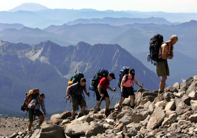 Mendaki gunung butuh perjuangan