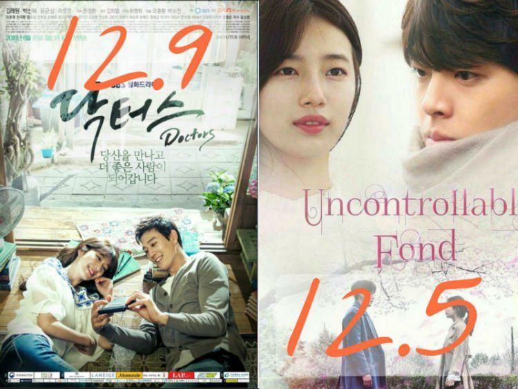 Rating awal kedua drama (edited)