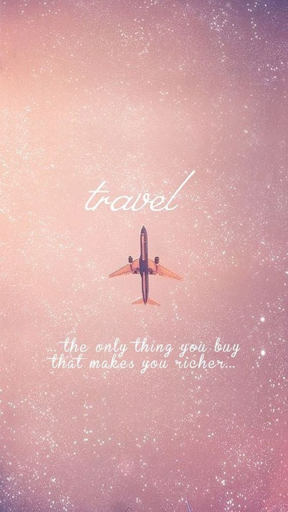 travelling makes you happy