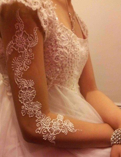 White-Henna-Designs