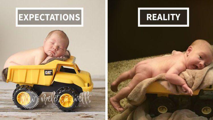 Foto Bayi Yang Hasilnya Beda Jauh Sama Ekspektasinya Duh Lucu Dan Bikin Ngakak Terus