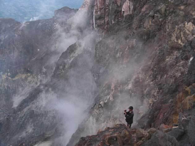 gunung wutoh kawah Merapi