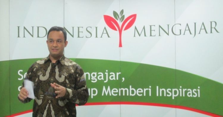 Anies Baswedan, penggagas Indonesia Mengajar.
