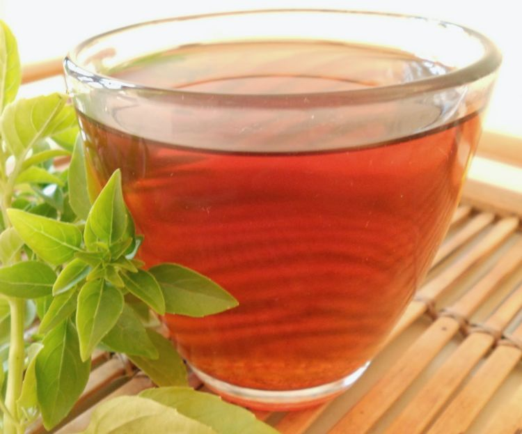 ramuan teh dan daun kemangi