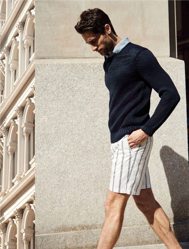 Vertical stripes pants