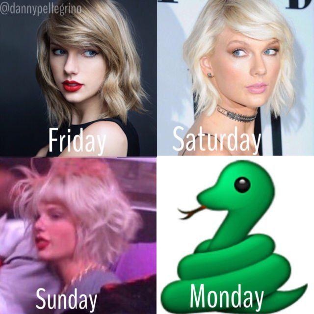 Duh Taylor berubah jadi ular via garyandlinda