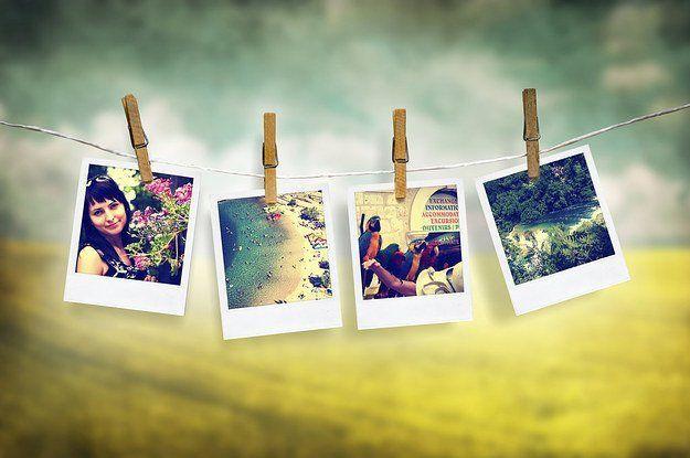 Pilihlah foto-foto terbaik untuk dipajang