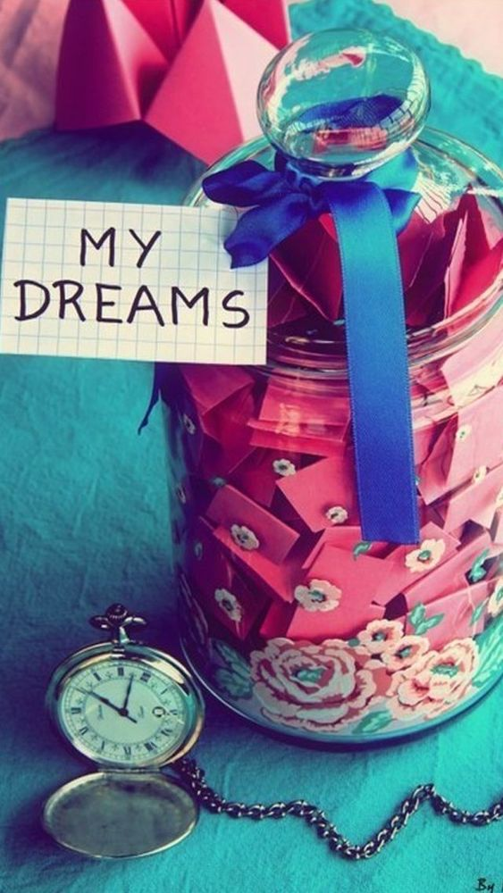 my dream is...
