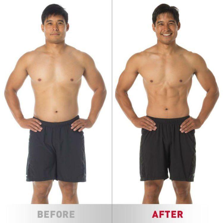 Before dan after latihan