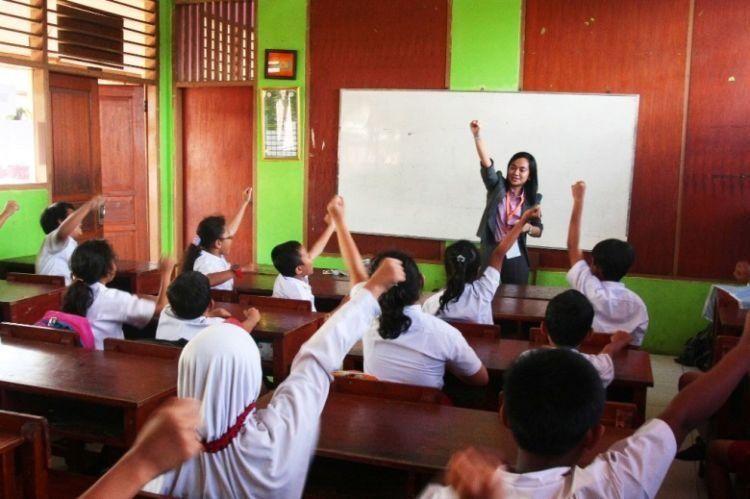 Pengajar sekolah dasar