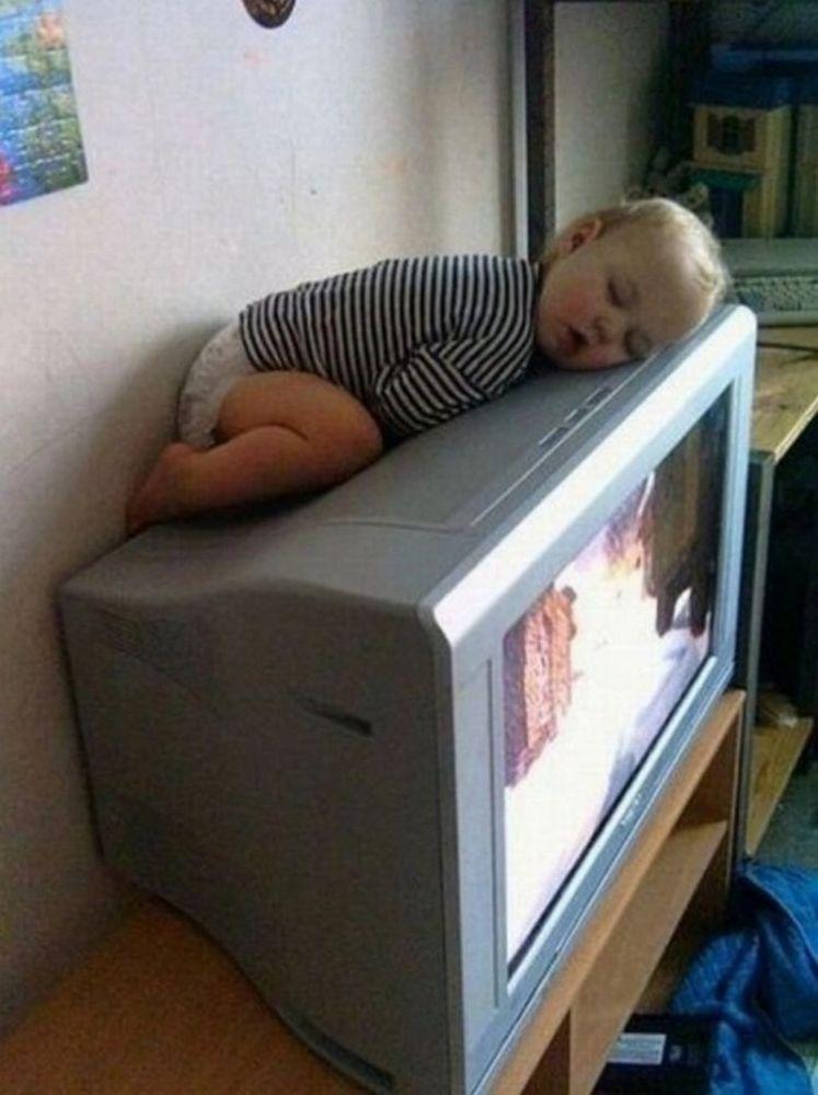ngantuk banget kayaknya.