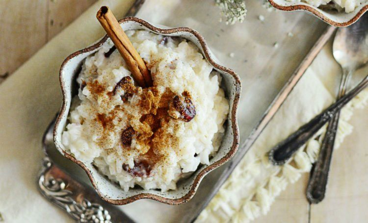 puding nasi yang mirip ketan susu!