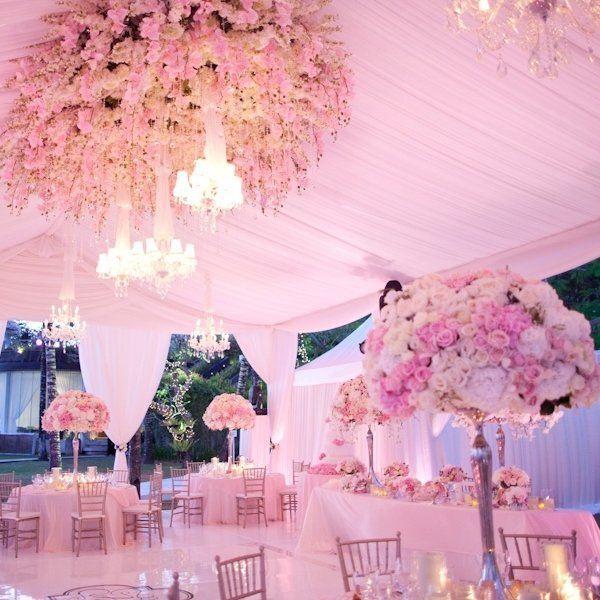 serba pink untuk pernikahan yang cantik