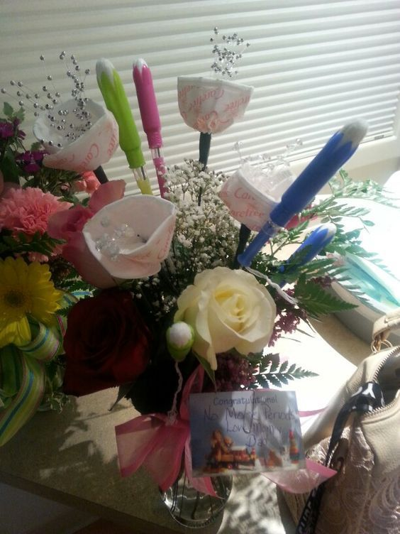 buket bunga tampon