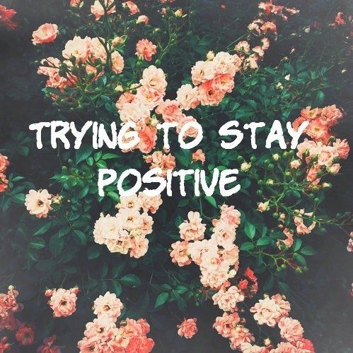 Tetap positif ya, Guys!
