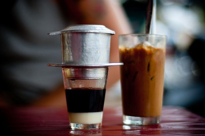 Ca Phe Sua Da, es kopinya Vietnam.