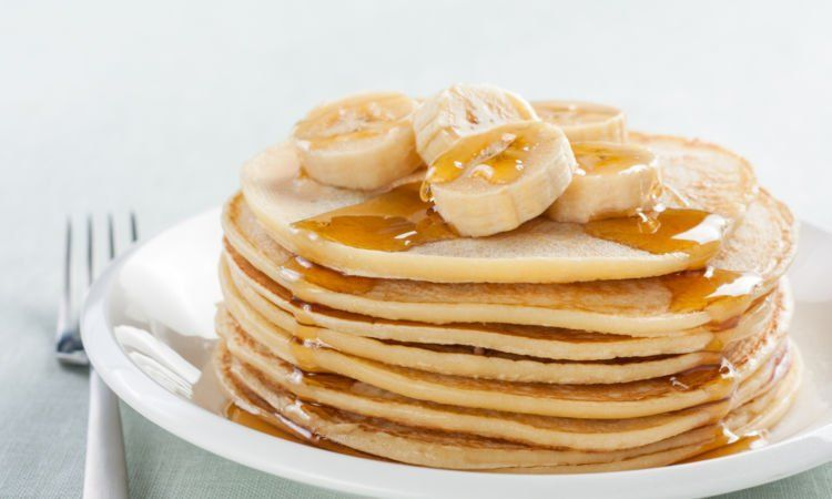 banana pancake!