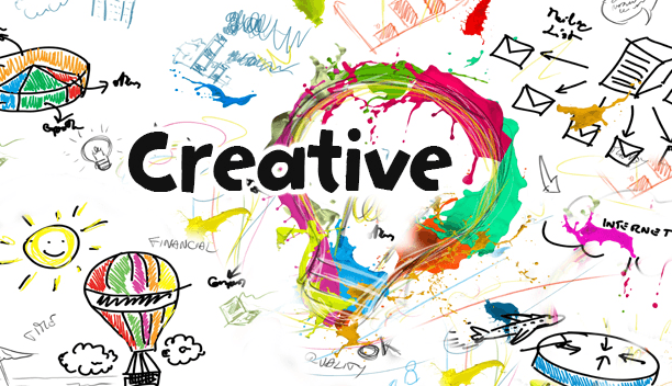 Kata kreatif jauh lebih menarik kan?