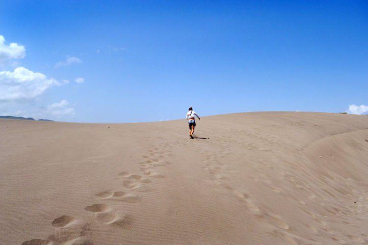 Kayak di gurun pasir yaa