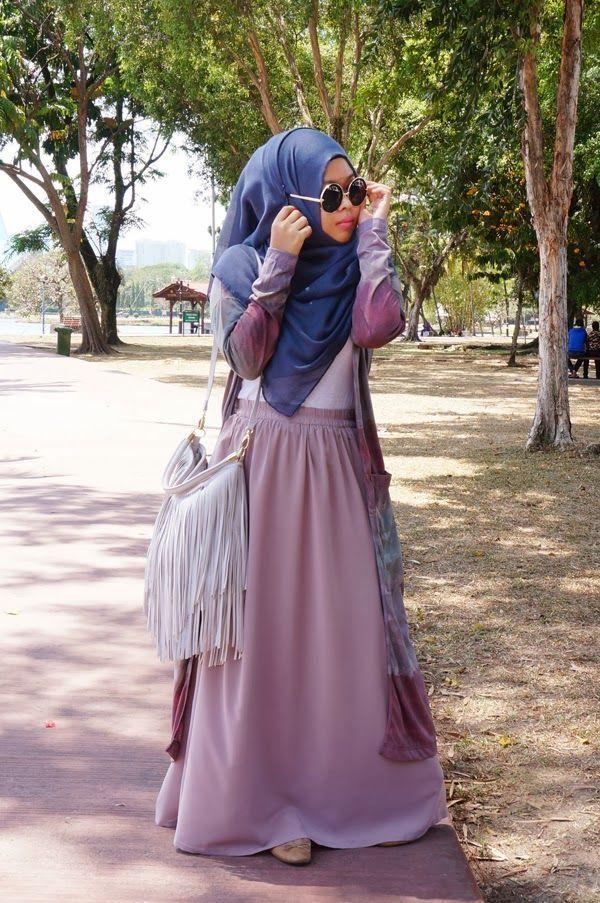 Koleksi-Model-Baju-Muslim-Terbaru-Stylish-untuk-ke-Kampus