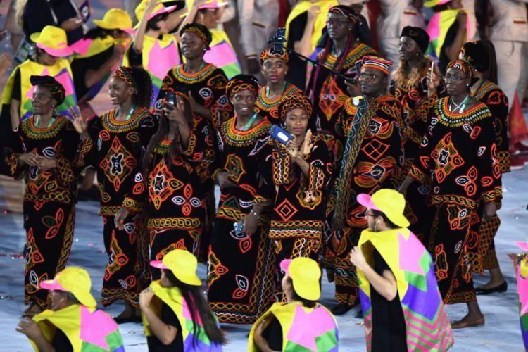 kostum tradisional kamerun!