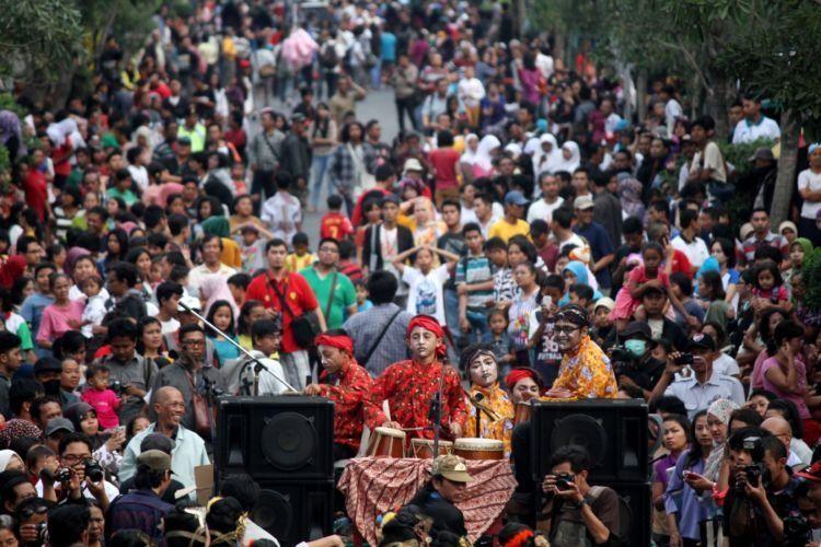Pembukaan Festival Kesenian Yogyakarta