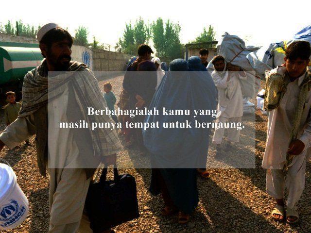 Pengungsi dari Afghanistan.