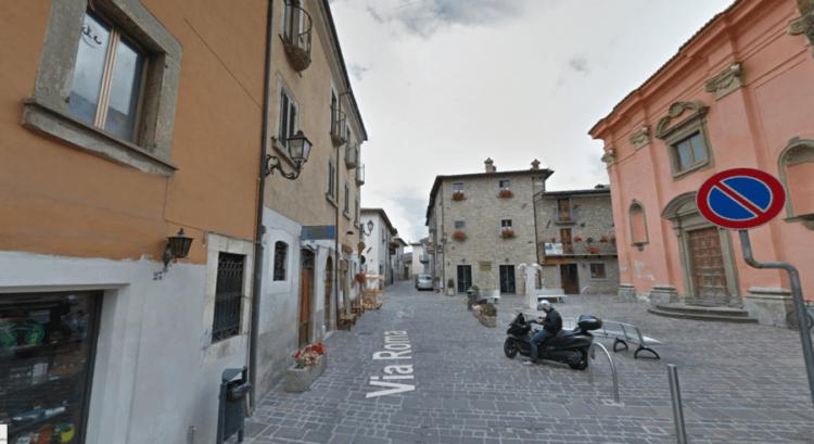 kota Amatrice Sebelum dan Sesudah Gempa