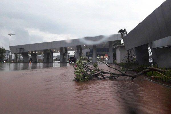 Genangan Banjir terminal 3 ultimate