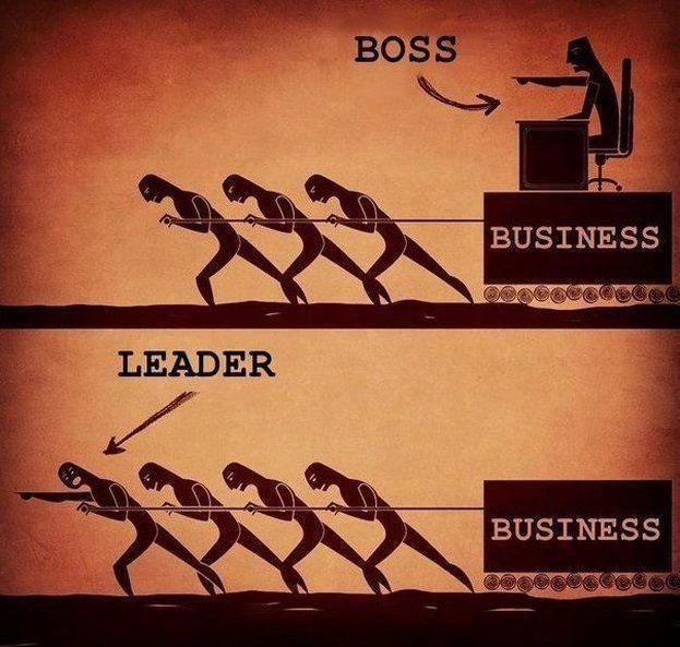 Pemimpin vs bos