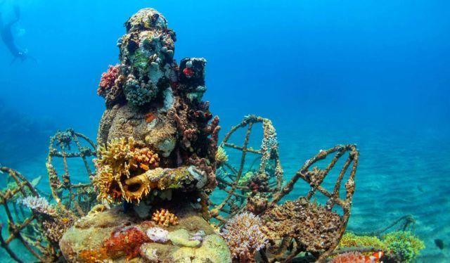 beneran di bawah laut lho