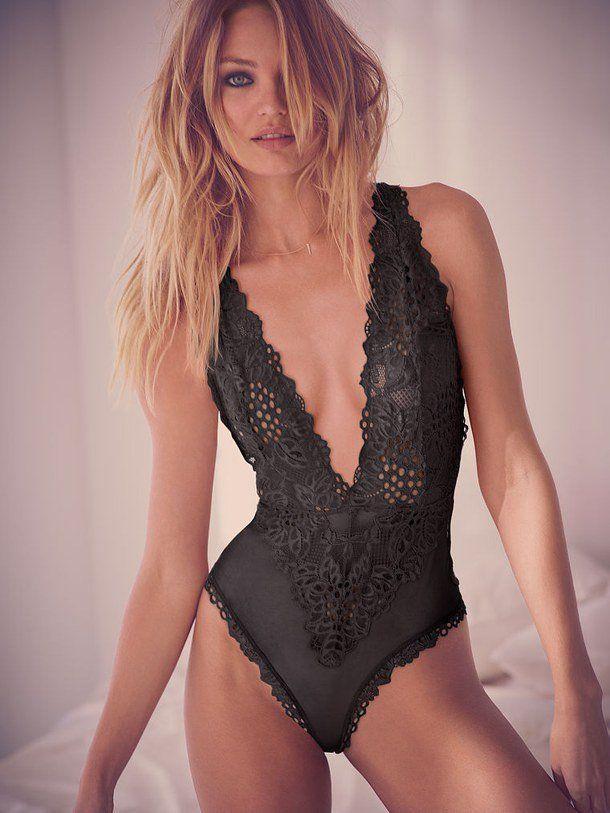 teddy lingerie mirip baju renang onepiece.