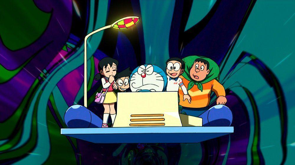 78 Gambar Gambar Kartun Orang Doraemon Terlihat Cantik