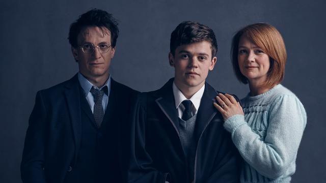 Harry, Albus, Ginny versi drama