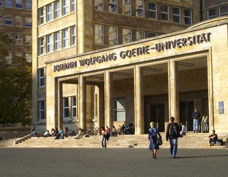 Salah satu kampus di Jerman, Goethe Universität Frankfurt.