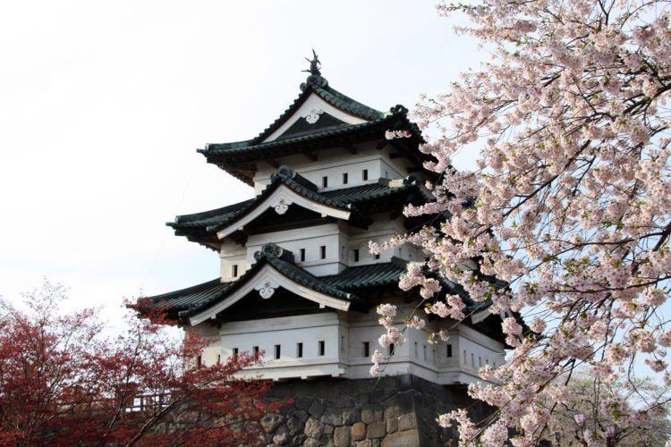 Kastil Himeji.